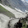 Amarnath Pilgrims Route The Holy Shrine