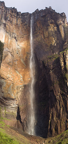 Angel Falls During The Dry Season