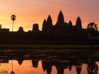 Angkor Aat Sunrise