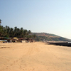 Anjuna Beach Goa Long View