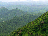 Aravalli Mountains Range
