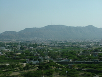Aravalli Mountains With Ajmer