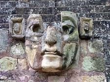 Archaeological Ornaments - East Court Display Honduras