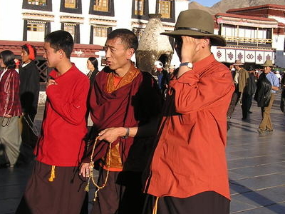 Around Jokhang