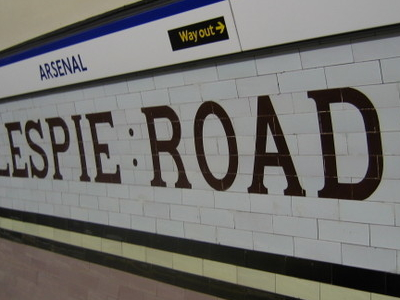 Arsenal Tube Station Interior