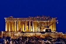 Athens Acropolis - Blue Hour