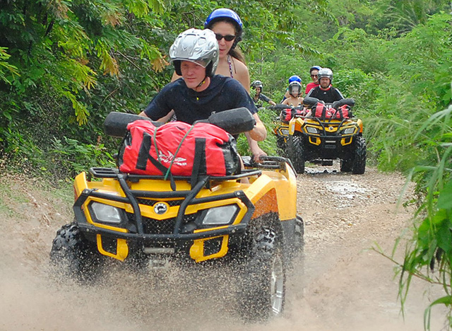 ATVs and Cenote Photos