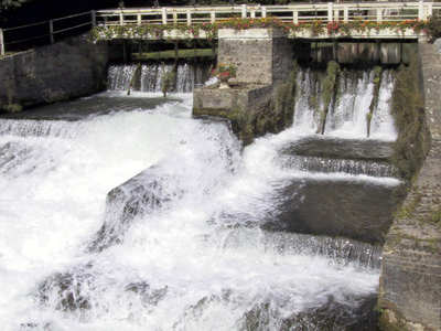 Weir On The River Ternoise