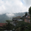 A View Of Darjeeling From The Road To Rock Garden