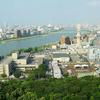 A View Of Niigata City And Shinano River