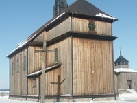 A Wooden Church From 1743