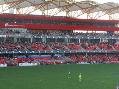 Media Facilities At Carrara Stadium