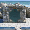 Plaque At Cape Agulhas