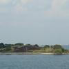 Island In Aliyar Reservoir