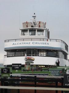 Alcatraz Cruise Boat