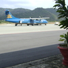 Vietnam Airlines At Airport