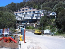 Falls Creek Hotel In Summer