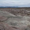 Badlands Of The Valle De La Luna