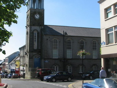 Ballymoney  Town  Clock And Masonic  Hall