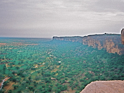 The Bandiagara Escarpment From Banimoto