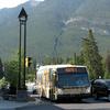 Banff Alberta Roam Bus On Route 1