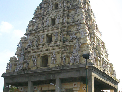 The Bull Temple Entrance