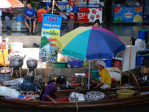 Floating Markets Of Damnoen Saduak Cruise Day Trip From Bangkok Photos