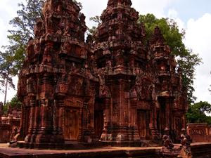 Banteay Srey, Beng Melea and Kompung Kleang Photos