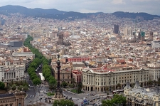 Barcelona - Bird's Eye View