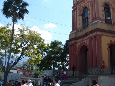 The Old Basilica Of Guadalupe