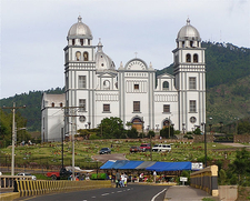 Basilica Virgin Of Suyapa In Tegucigalpa