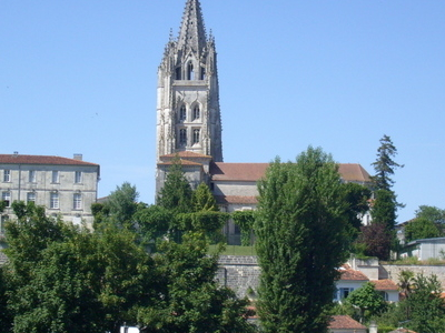 The Saint-Eutrope Basilica From The Avenue De Saintonge