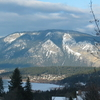 Bastion Mountain Across Salmon Arm Of Lake Shuswap