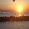 Bay Of Giardini Naxos At Sunrise