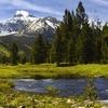 Bear River Through Uinta Mountains Christmas Meadows UT