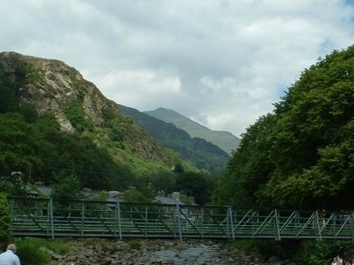 The River Glaslyn At Beddgelert
