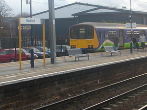 Bedford Midland Rail Station