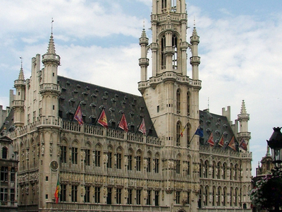 The Brussels Town Hall