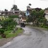 Berastagi Town View In Sumatra
