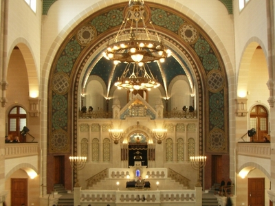 Interior View Of Rykestrasse Synagogue