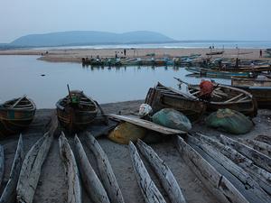 Bheemunipatnam Beach