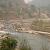 Bhote Koshi In Nepal During The Dry Season