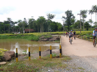 Bikers In Saun Nong Nooch