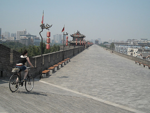 Half Day Walking And Biking In Xian Photos