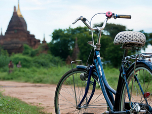Biking Tour base in Bagan Photos