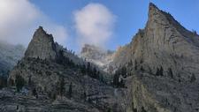 Blodgett Canyon Cliffs