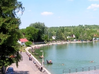 Bánk Lake Beach
