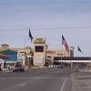 Border Between Wendover Utah & West Wendover Nevada