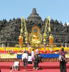 Borobudur On Vesak