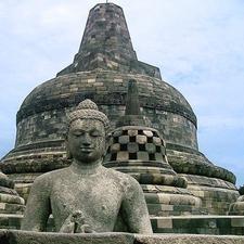 Borobudur's Main Stupa